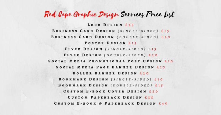 RCGD Services Price List2020