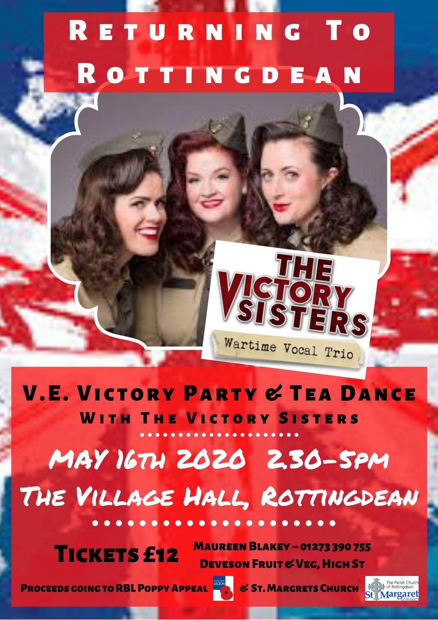 Rottingdean Tea Dance Poster